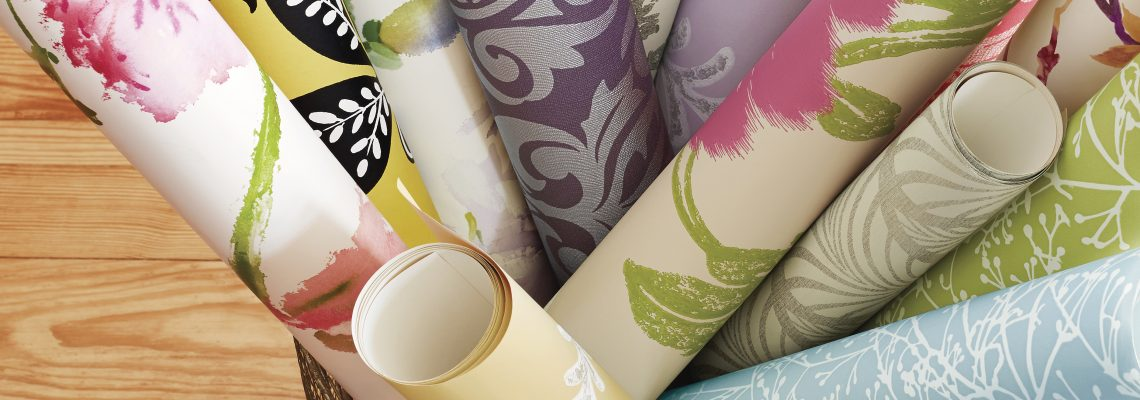 Thibaut wallcoverings display