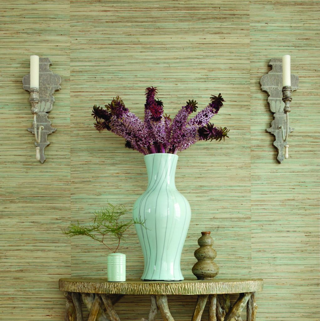Thibaut grasscloth available at Atlantic Wallpaper & Decor in Pompano Beach, FL