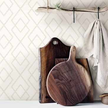 Geometric Wallpaper available at Atlantic Wallpaper & Decor