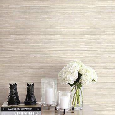 Grasscloth available at Atlantic Wallpaper & Decor